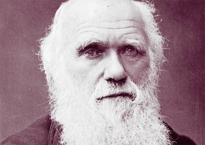 Charles Darwin, Wikipedia commons.