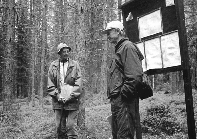 Svante Fahlgren och Bengt Johansson. Foto Bror Almén.