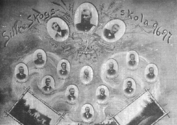 Sillre skogsskola 1896-97.